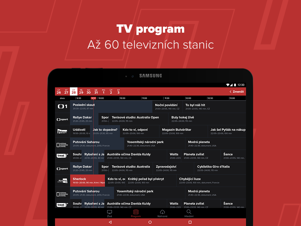 PAMICO TV Program tablet